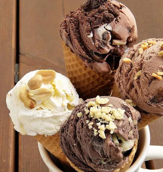 Swirls N Curls Homemade Ice Cream Waffle Cones